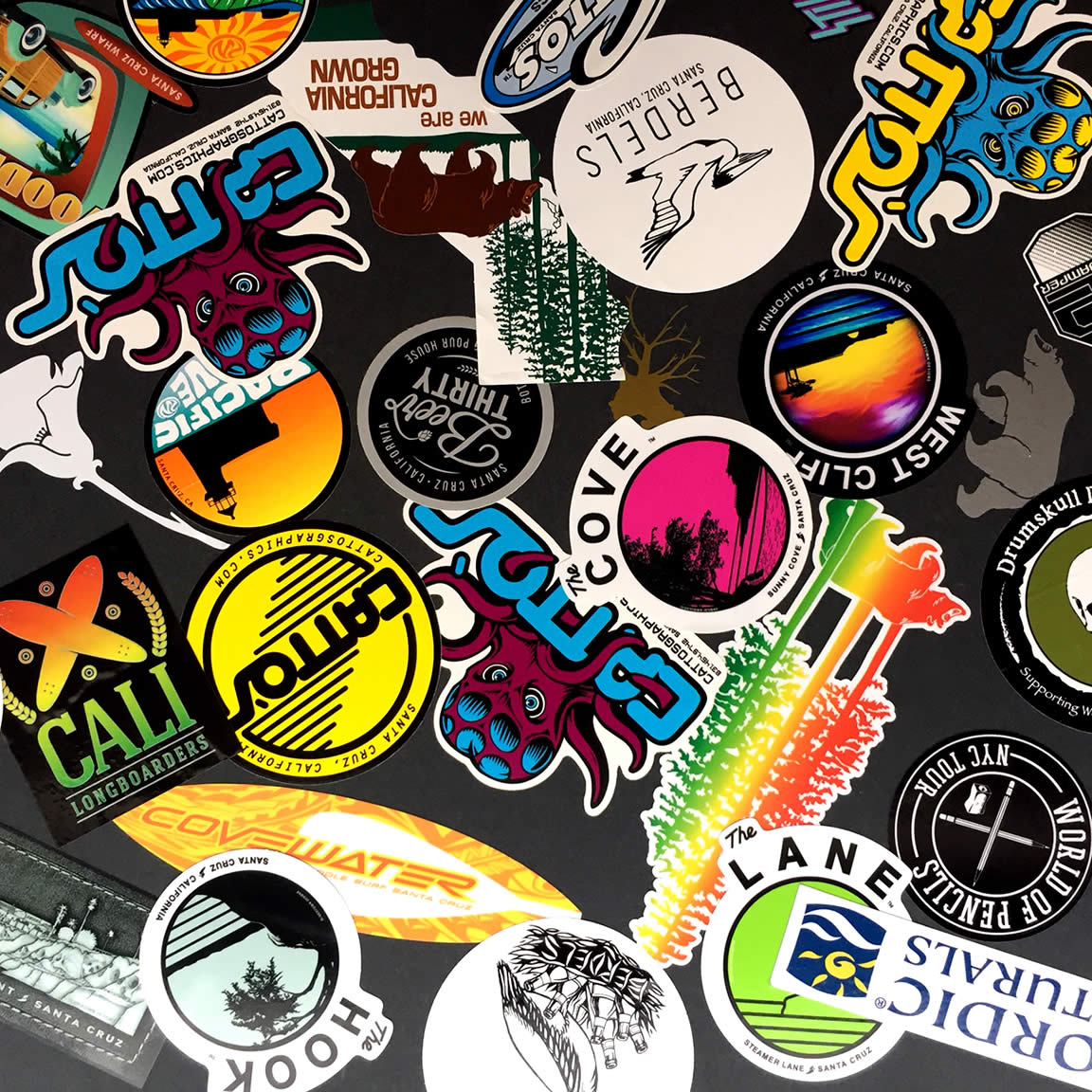 decals stickers portfolio cattos graphics