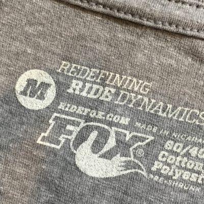fox racing shox custom label