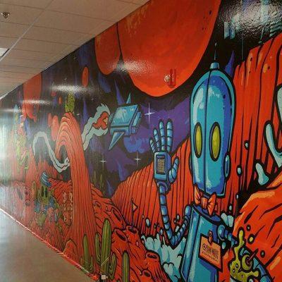 wall graphics costco