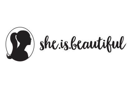 she is beautiful logo