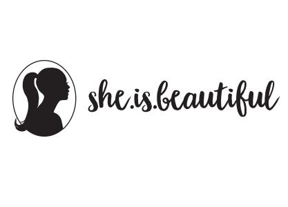 she is beautiful logo